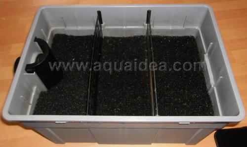Kit laghetto professionale filtro a camere separate for Filtri da laghetto