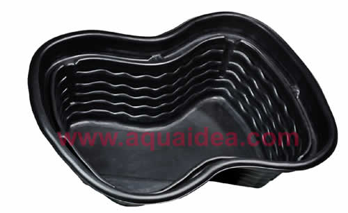 Vasche preformate for Vasche da giardino in plastica