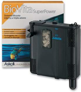 Filtro interno per acquario completo uniko ex biovita for Depuratore per acquario tartarughe