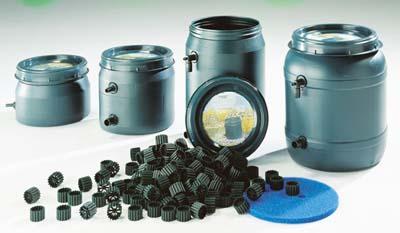 Bio filtro aqua line esterno 25 litri for Filtro esterno laghetto fai da te
