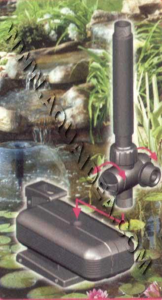 Pompa per laghetto fontana 3000 for Fontana per laghetto
