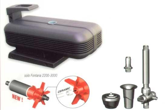Kit spruzzi per pompa fontana 2200 3000 for Kit per laghetto