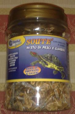 Gamberetti e pesci essiccati per tartarughe 2500ml for Tartarughe grandi