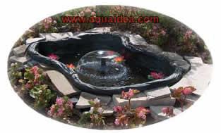 Happy pond kit laghetto da 120 litri for Vasca pvc laghetto