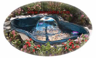 Kit laghetto da giardino fai da te 400 litri for Vasca pvc laghetto