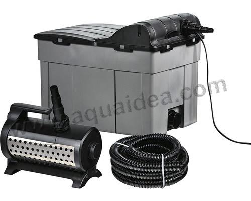 Kit laghetto professionale filtro a camere separate for Pompa ricircolo acqua laghetto