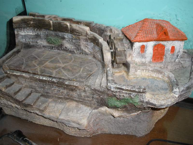 Isola tartarughiera mulino effetto ruscello for Tartarughiera acqua