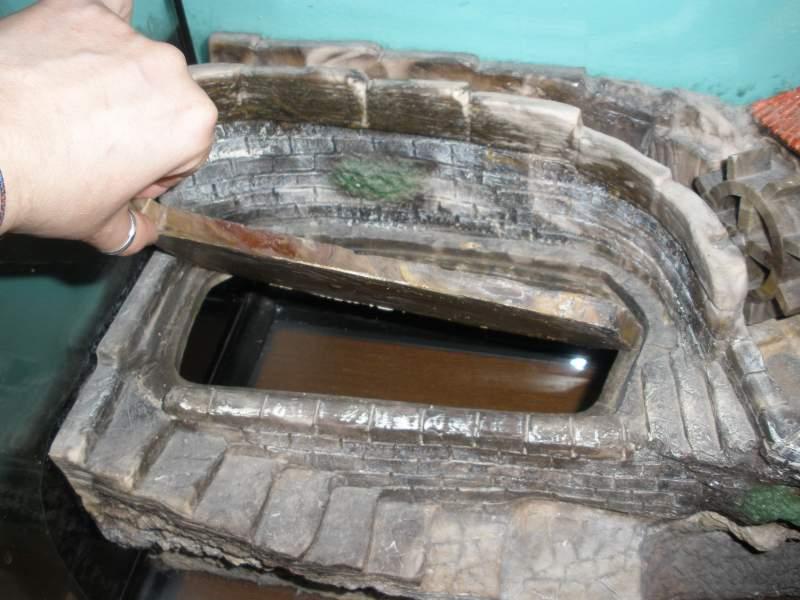 Isola tartarughiera mulino effetto ruscello for Termoriscaldatore per tartarughe