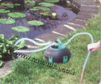Filtro laghetto a pressione 20 lt prexo for Pompa e filtro per laghetto