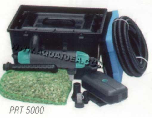Kit laghetto filtro esterno pompa e raccordi senza uvc for Pompa e filtro laghetto