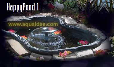 Happy pond kit laghetto da 120 litri for Kit laghetto da giardino