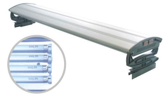 Plafoniere Per Acquari Aperti : Plafoniere alluminio acquari aperti cm watt t