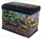 Acquario Mirabello 30 in cristallo accessoriato capacit� 30 litri con sfondo decorato intercambiabile